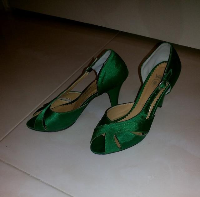 بازارچه: کفش مجلسی سبزفروش