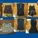 تعدادی تاپ و تونیک مجلسی زنانه سایز 42-44 و تعدادی کیف و کفش سایز 41 زنانه پاشنه بلند