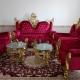 مبل 7 نفره سلطنتی با 3 عدد میز