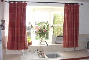 terrific ideas for kitchen curtains