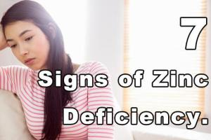 hdr 7 Signs of Zinc Deficiency 10 Cures