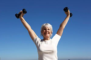 Seniors Resistance training