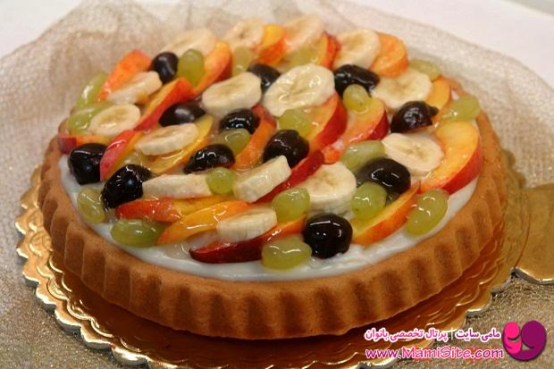 fruit pie cake
