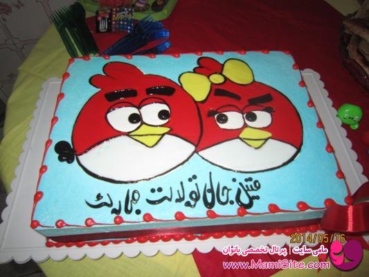 عکس کیک انگری برد